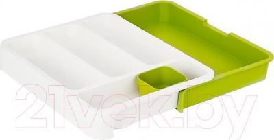 Органайзер для столовых приборов Joseph Joseph DrawerStore Cultery Trav 85041 (белый) - общий вид