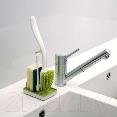 Щетка для мытья посуды Joseph Joseph Edge Store 85007 (белый) - в интерьере