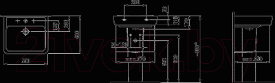 Умывальник Laufen Pro 55x48 (8189510001041)