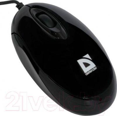 Мышь Defender Phantom 320 (черный) - вид сбоку