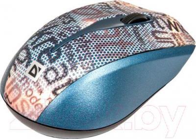 Мышь Defender StreetArt MS-305 Nano (серый)