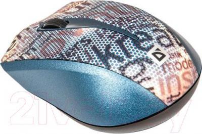 Мышь Defender StreetArt MS-305 Nano (серый) - вид сбоку
