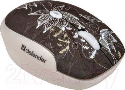 Мышь Defender To-GO MS-565 Nano Rock Bloom / 52569