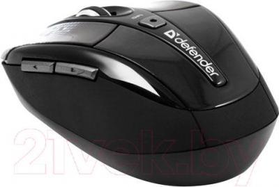 Мышь Defender To-GO MS-585 Nano Disco (черный) - вид сбоку