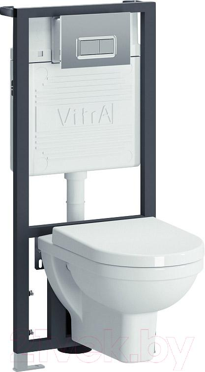 Купить Унитаз Подвесной С Инсталляцией Vitra