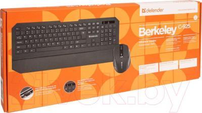 Клавиатура+мышь Defender Berkeley C-925 Nano / 45925 - упаковка