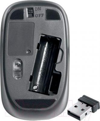 Клавиатура+мышь Defender Sorbonne C-835 Nano - основание мыши и приемник