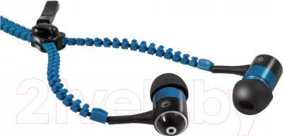 Наушники-гарнитура Defender ZigZag (синий) - общий вид