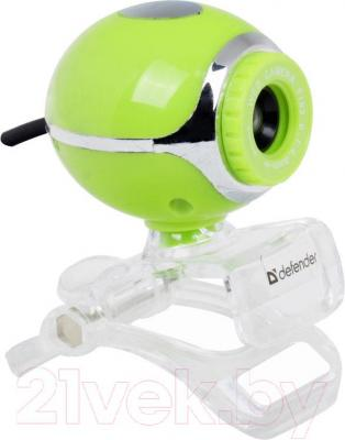 Веб-камера Defender C-090 (зеленый)