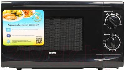 Микроволновая печь BBK 20MWS-706M/B - вид спереди 2