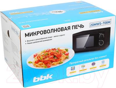 Микроволновая печь BBK 20MWS-706M/B - коробка