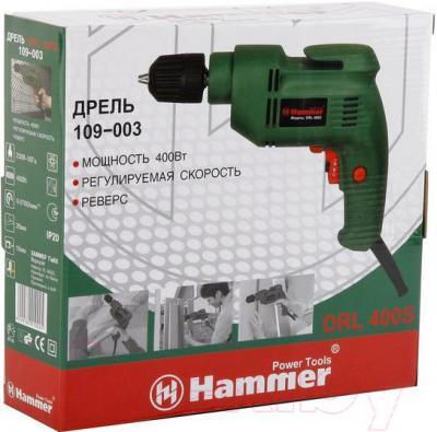 Дрель Hammer DRL400S - упаковка