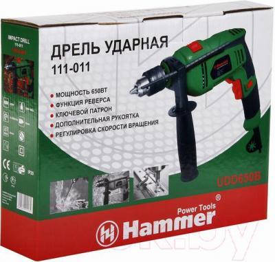 Дрель Hammer Flex UDD650B - упаковка