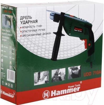 Дрель Hammer Flex UDD710A - упаковка