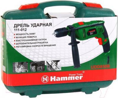 Дрель Hammer Flex UDD850B - упаковка