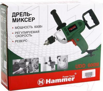 Дрель Hammer UDD600M - упаковка
