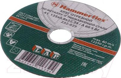 Отрезной круг Hammer Flex KTS 232-010