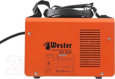 Инвертор сварочный Wester IWT200 R