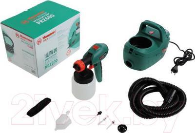 Краскопульт электрический Hammer Flex PRZ600 - комплектация