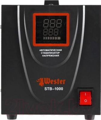 Стабилизатор напряжения Wester STB-1000 - в выключенном состоянии
