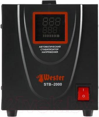 Стабилизатор напряжения Wester STB-2000 - в выключенном состоянии