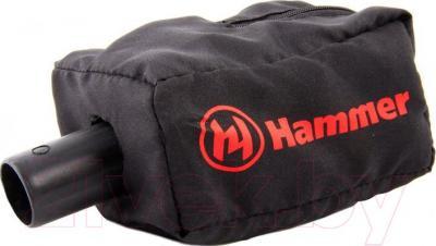 Вибрационная шлифовальная машина Hammer PSM180C Premium - пылесборник