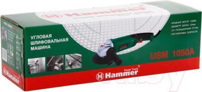 Угловая шлифовальная машина Hammer Flex USM1050A - упаковка