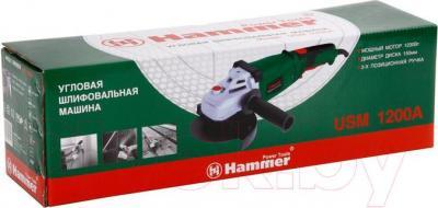 Угловая шлифовальная машина Hammer Flex USM1200A - упаковка