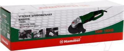 Угловая шлифовальная машина Hammer Flex USM1800B - упаковка