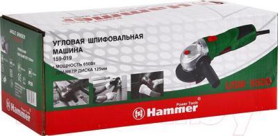 Угловая шлифовальная машина Hammer Flex USM650B - упаковка