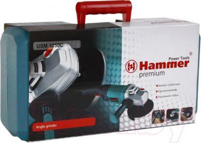 Угловая шлифовальная машина Hammer USM1250C Premium - упаковка