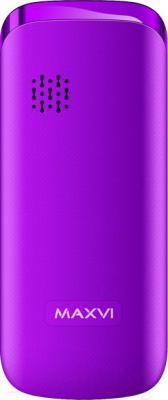 Мобильный телефон Maxvi C4 (фиолетовый)