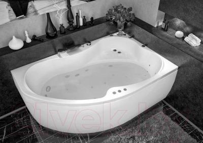 Ванна акриловая Aquanet Capri 170x110 R