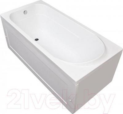 Ванна акриловая Aquanet West 160x70 Эко