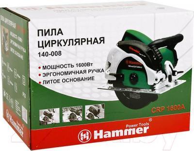 Дисковая пила Hammer Flex CRP1600A
