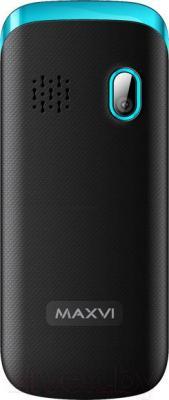 Мобильный телефон Maxvi C6 (черно-синий)
