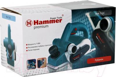 Электрорубанок Hammer RNK710C Premium - упаковка