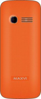 Мобильный телефон Maxvi C11 (оранжевый)