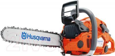 Бензопила цепная Husqvarna 555 (966 01 09-15) - общий вид