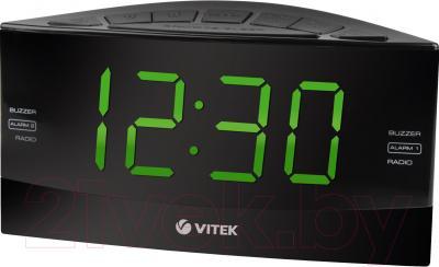 Радиочасы Vitek VT-6603 BK - общий вид