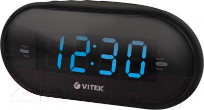 Радиочасы Vitek VT-6602 BK - общий вид