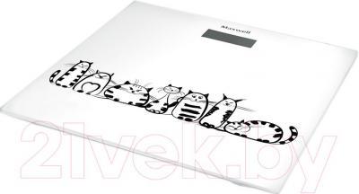 Напольные весы электронные Maxwell MW-2675 W