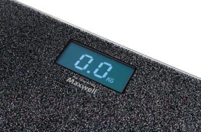 Напольные весы электронные Maxwell MW-2668 SR - светящиеся символы дисплея