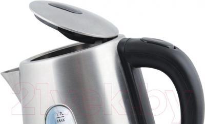 Электрочайник Vitek VT-7007 ST - открытие крышки с помощью кнопки