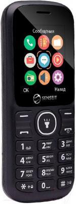 Мобильный телефон Senseit L100 (черный)