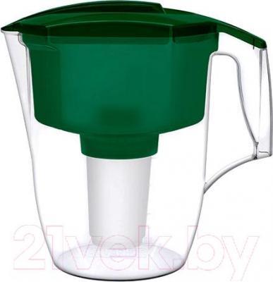 Фильтр питьевой воды Аквафор Гарри (зеленый,с дополнительным модулем)