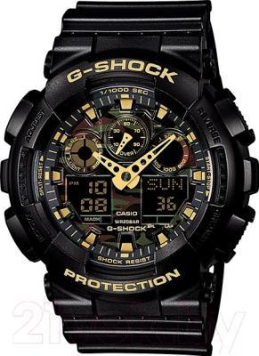 Часы мужские наручные Casio GA-100CF-1A9ER