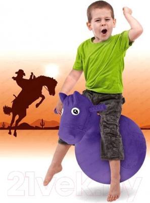 Игрушка-прыгун Bradex Веселая Лошадка DE 0111 (фиолетовый)