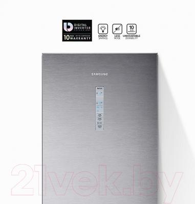 Холодильник с морозильником Samsung RB41J7857S4/WT