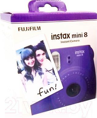 Фотоаппарат с мгновенной печатью Fujifilm Instax Mini 8 (виноград)